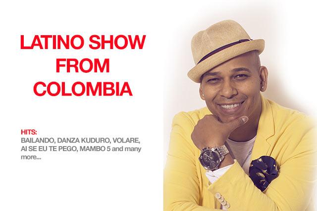 Latino party z Kolumbie