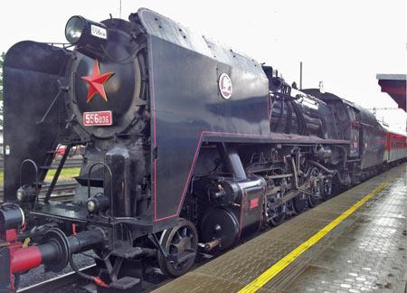 Štokr - parní lokomotiva řady 556.0